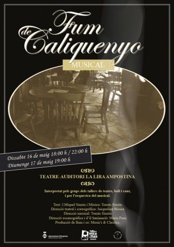 "Cartell musical ""Fum de Caliquenyo"""